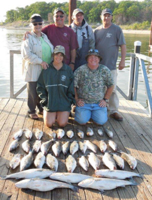 Cornett 39 s guide service lake texoma fishing guide come for Fishing guides on lake texoma